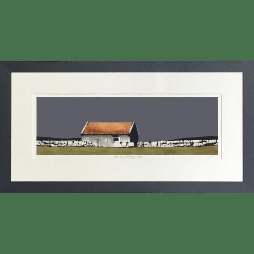 Old Farm Building by Ron Lawson