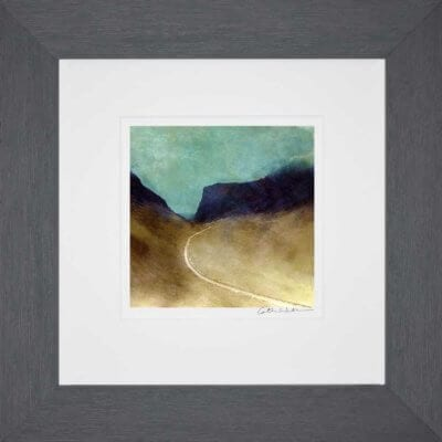 Bealach Na Ba, Applecross_Small print framed