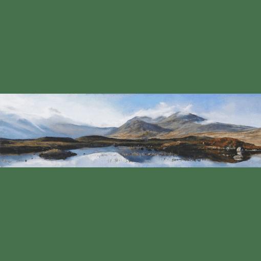 Fiona Haldane Distant Mountain, Rannoch Moor