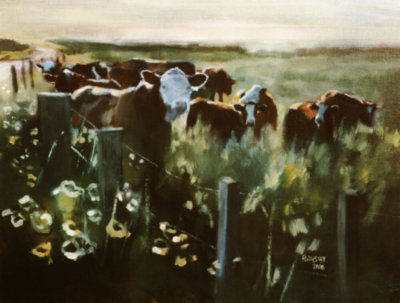 Summer Pastures by Laurie Forrester