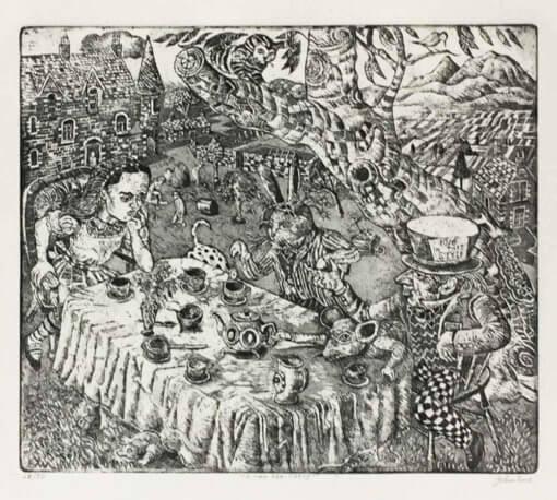 John Johnstone Mad Hatters Tea Party