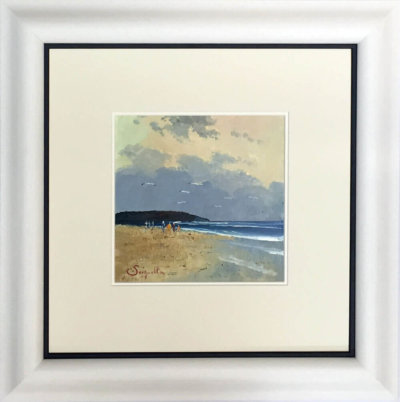 Beach Walk Framed