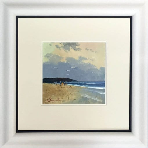 Beach Walk Framed
