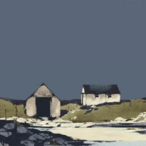 Boathouse, Arisaig by Ron Lawson