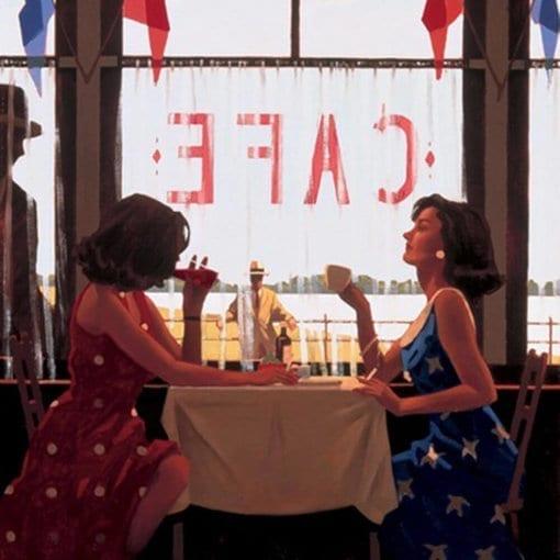Jack Vetteriano Cafe Days