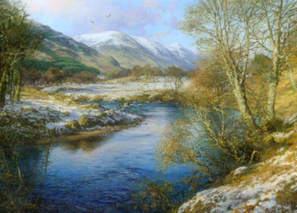 Glen Clova In Winter