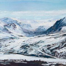 Mountain View Glenshee detail