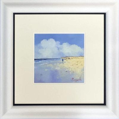 On The Beach Framed