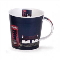 Ron Lawson Phone Box Mug
