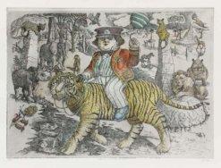 John Johnstone The Boy Who Rode The Tiger