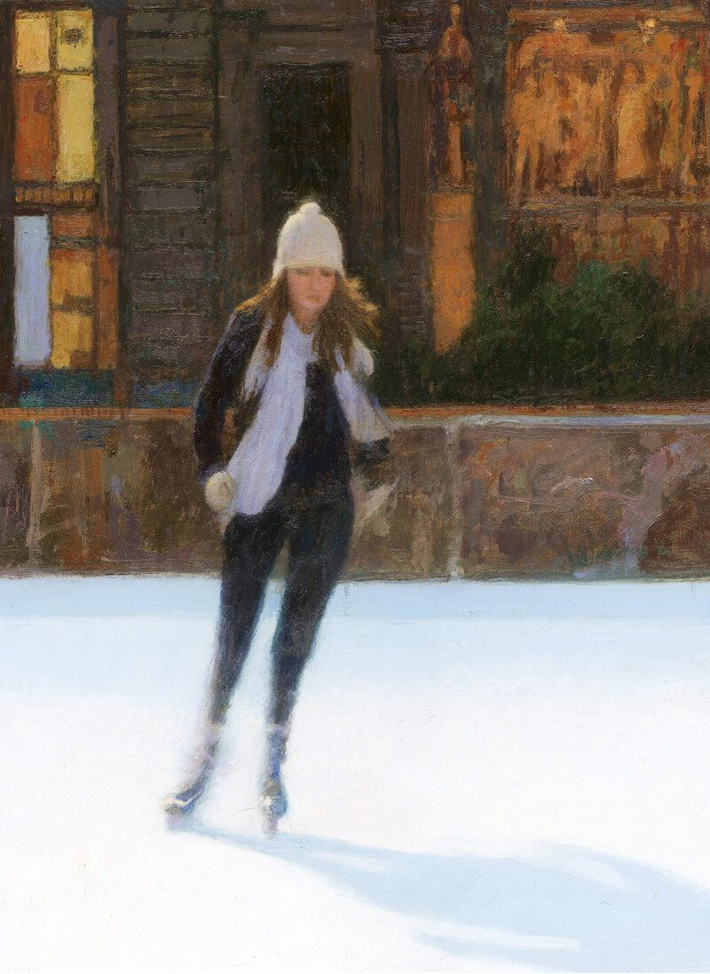 The Skater by JonathanMitchell
