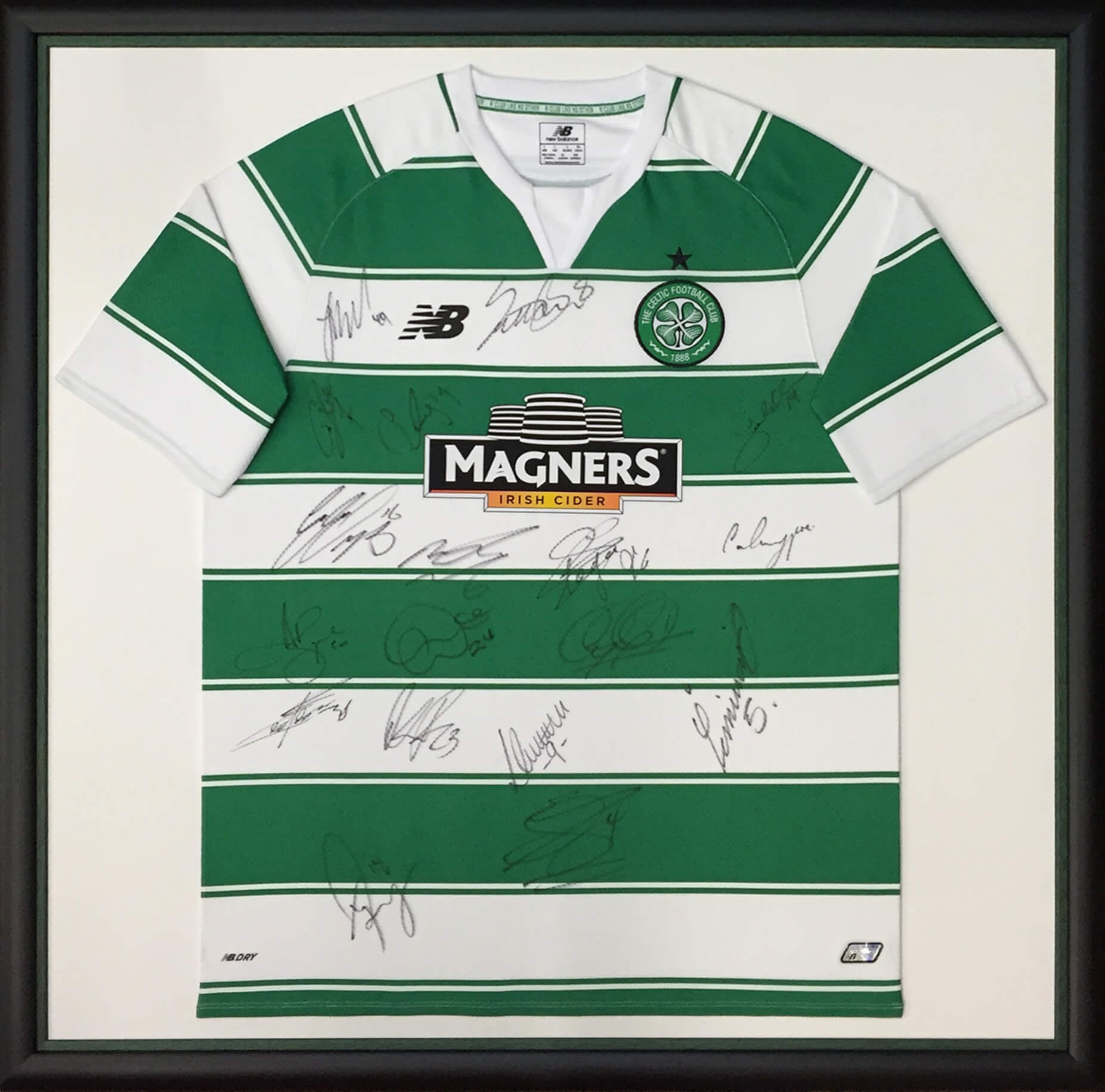 Framing Example Celtic FC
