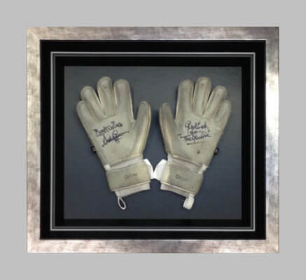 Framing Example Goalkeepers Gloves