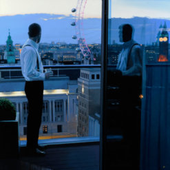London Evening by Iain Faulkner_Detail