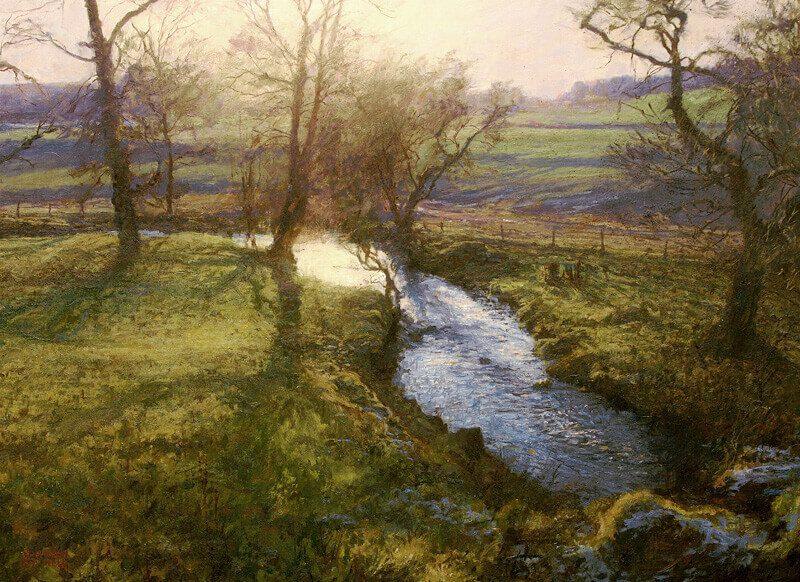 Jonathan Mitchell low sun near Cortachy