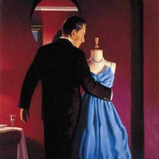 Alter of Memory by Jack Vettriano