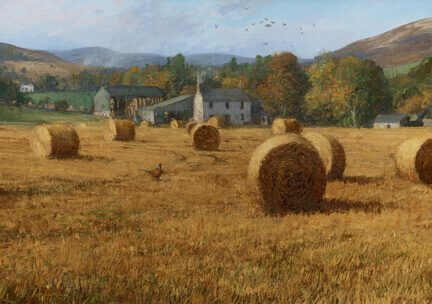 Autumn In Glenogil by Jonathan Mitchell