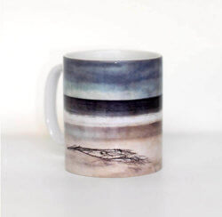 Cath Waters Mug Driftwood Arisaig