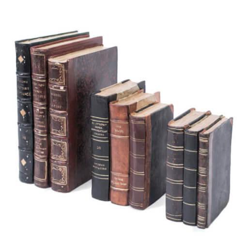 Small Antique Book Block