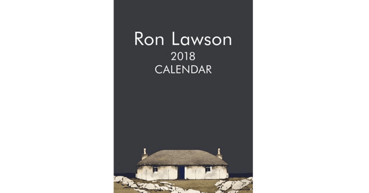 Ron Lawson Calender 2018