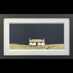 Hebridean Blackhouse, Howmore South Uist Original by Ron Lawson