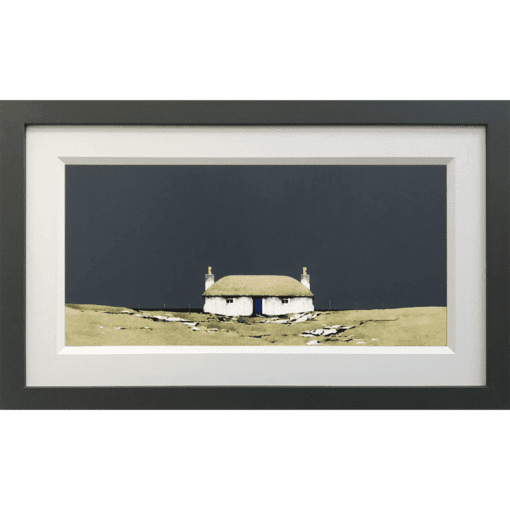 Hebridean Blackhouse, Howmore South Uist Original by Ron Lawson