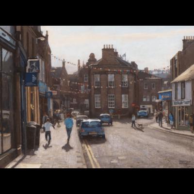 Castle Street Forfar by Jonathan Mitchell