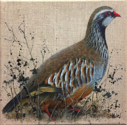 French Partridge by Helen Welsh