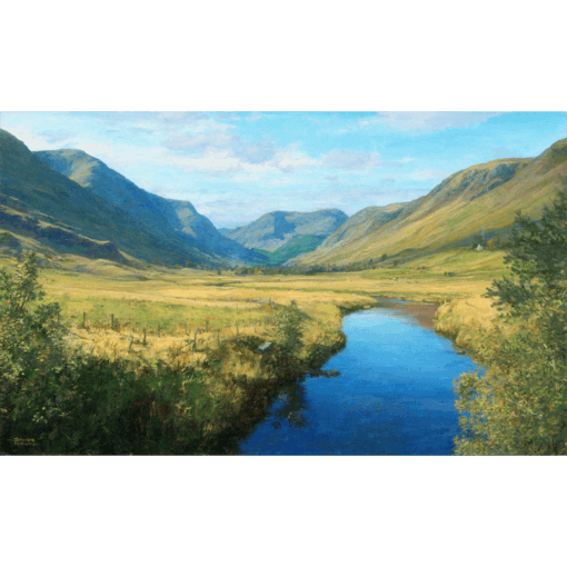 Glendoll from Clova by Jonathan Mitchell