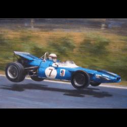 Jackie Stewart by Jonathan Mitchell