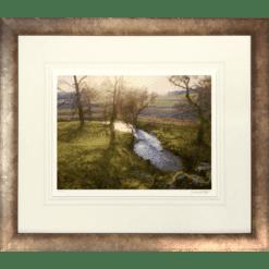 Low Sun Near Cortachy by Jonathan Mitchell