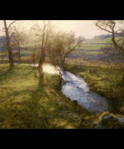 Low Sun Near Cortachy by Jonathan Mitchell copy