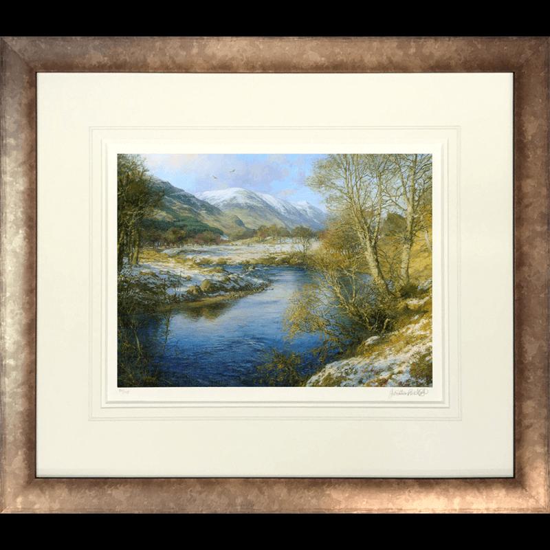 Winter Glen Clova by Jonathan Mitchell