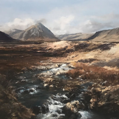 Autumn, Glencoe By Fiona Haldane