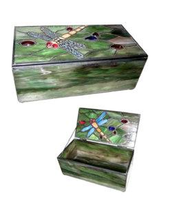 Dragonfly Tiffany Jewellery Box