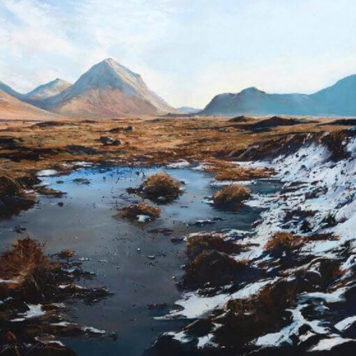 Winter Marsco Skye By Fiona Haldane