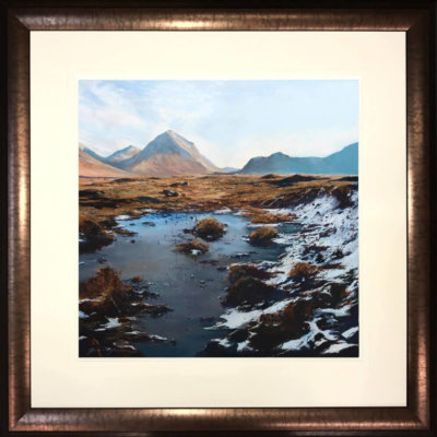 Winter Marsco Skye By Fiona Haldane Framed