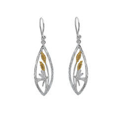 Origins Dragonfly Silver Earrings