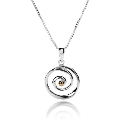 Origins Spiral Necklace