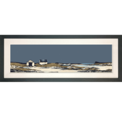 Framed-Special Edition Boathouse Arisaig Ron Lawson1
