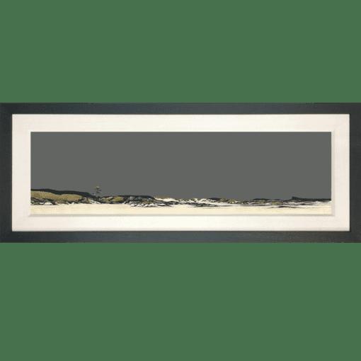 Framed-Special Edition Camusdarach beach Ron Lawson1