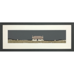 Hebridean Croft House by Ron Lawson