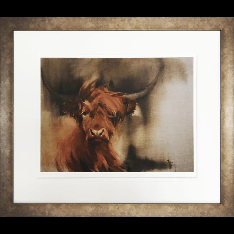 Highland Cow by Jennifer Mackie