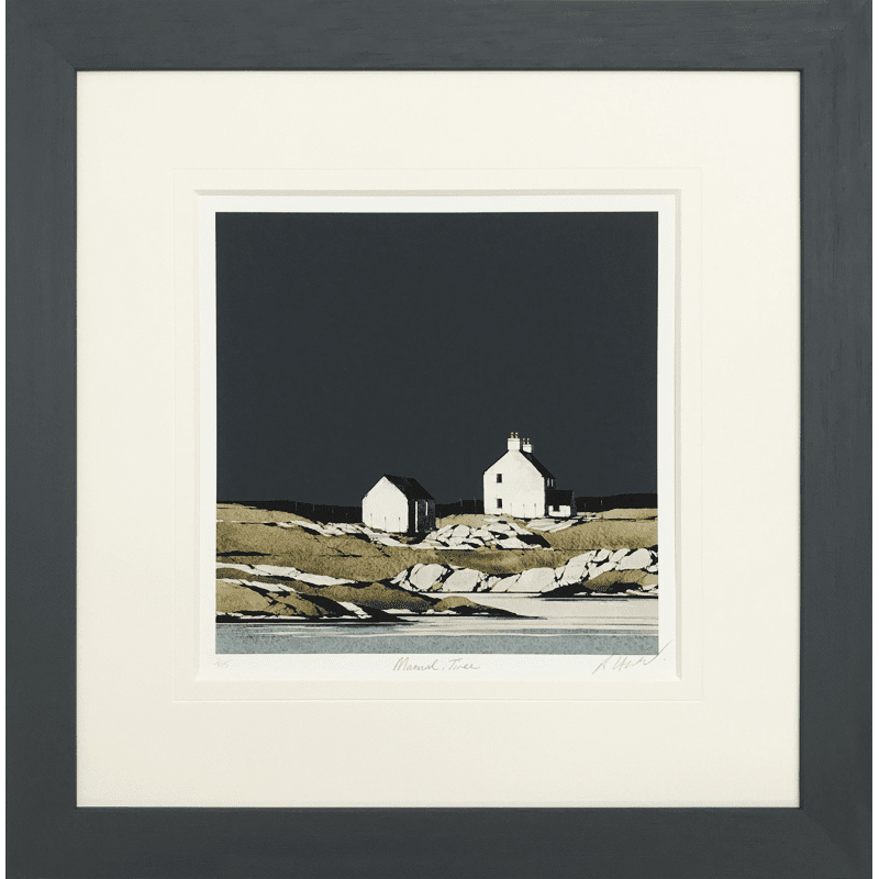 Mannal, Tiree by Ron Lawson
