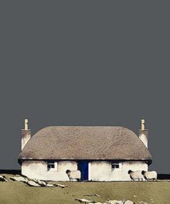 1 Hebridean Croft House detail