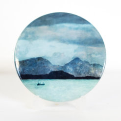 Rum from Ardnamurchan Coaster by Cath Waters