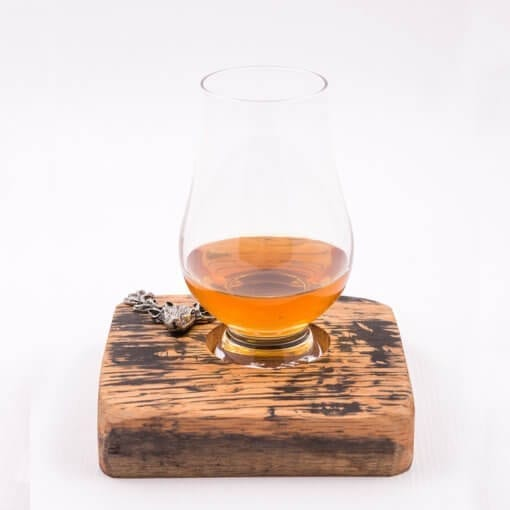 dram for 1 stag with glass & Whisky