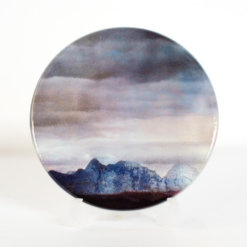 The Cuillins Skye v.2 coaster by Cath Waters