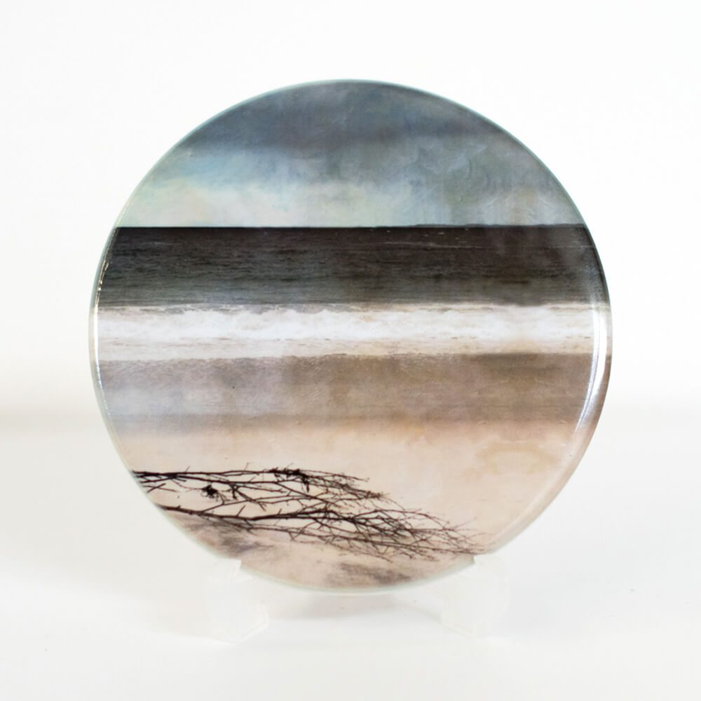 Driftwood Arisaig coaster by Cath Waters