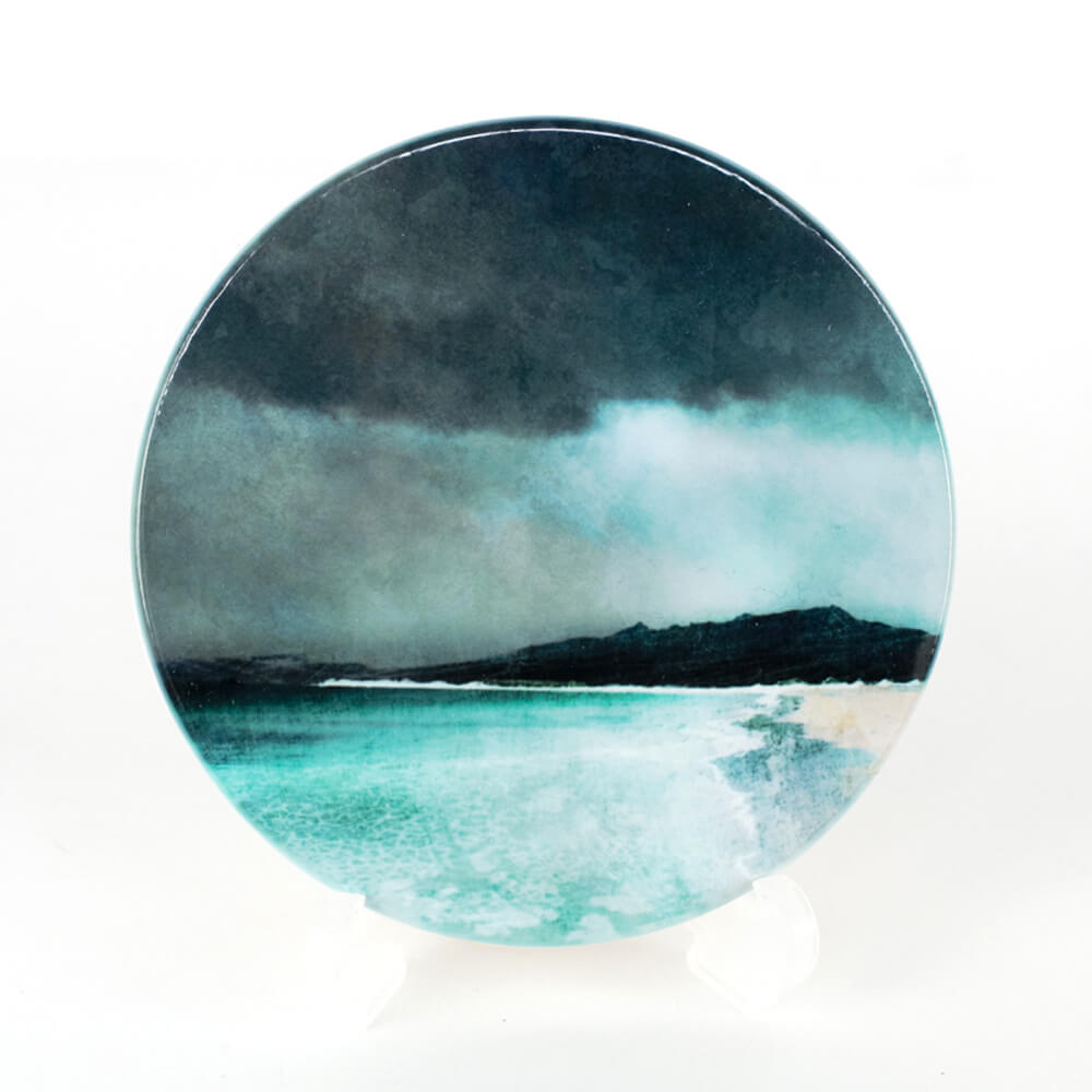 Reef Beach Isle of Lewis Ceramic Coaster